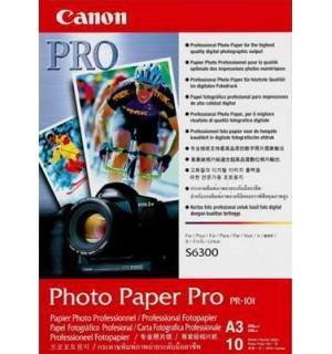 PR-101 Профессиональная фотобумага Canon  A3, 245г/м2 фото, глянцевая, 10 листов