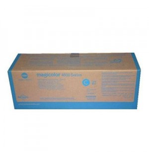 A0DK452 Тонер-картридж Magicolor 4650/4690MF/4695MF голубой 8K