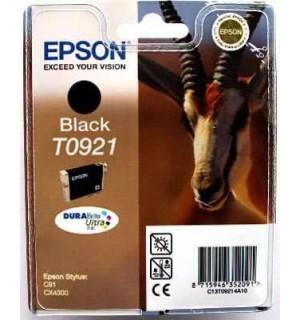 T0921 / T09214А / T1081 Картридж для Epson Stylus C91/ T26/ T27/ СX4300/ CX9300F/ TX106/ TX109/ TX117/ TX119 Black  (250стр. 7,4ml)