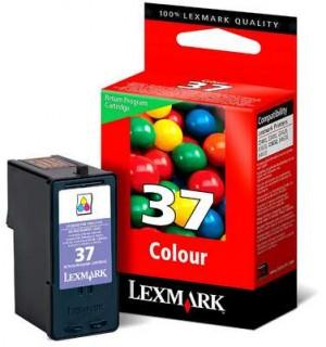 18C2140E LEXMARK №37 Картридж цветной для Z2420, X3650, X4650, X5650, X6650, X6675