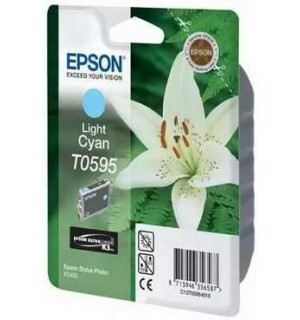 T0595 / T059540 Картридж для Epson Stylus Photo R2400 Ligh-Cyan (440 стр.)