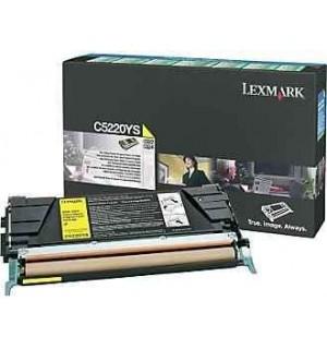 C5220YS Lexmark тонер картридж Return Program желтый для C522/ C524 /C530/ C532/ C534 (3000 стр.)