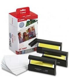 KP-108IP = KP-108IN [3115B001] Набор бумаги (108 листов 10*15 см) и цветных красителей для фотопринтеров Canon SELPHY CP100/ 200/ 220/ 300/ 330/ 400/ 500/ 510/ 600/ 710/ 810/ 820