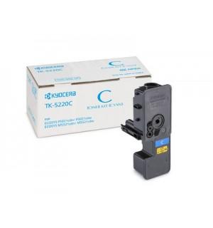 TK-5220C Тонер-картридж Kyocera голубой для P5021cdn/cdw, M5521cdn/cdw (1200 стр.) [1T02R9CNL1]