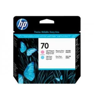 C9405A HP 70 Печатающая головка Light Magenta & Light Cyan для Hewlett Packard DesignJet Z2100/ Z3100/ Z3200/ Z5200/ Z5400, PhotoSmart Pro B8850/ B9180 (16тыс.стр.)