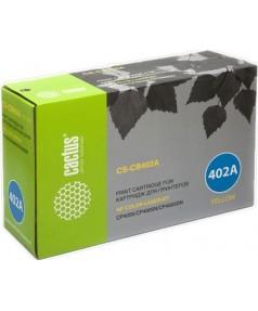 CB402A совместимый Картридж Cactus CS-CB402A для HP Color LaserJet 4005, Yellow 7500стр.