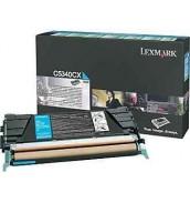 C5340CX Lexmark тонер картридж синий повышенного объема для C534 (7000 стр.)