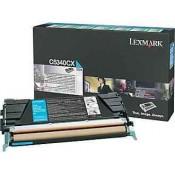 C5340CX Lexmark тонер картридж синий пов...