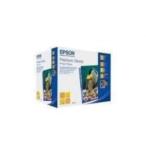 S042199 Бумага Epson Premium Glossy Photo Paper, 255г/м2, 13х18см 500л