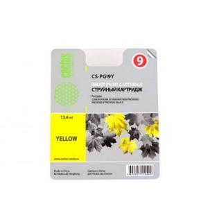 PGI-9Y Совместимый картридж Cactus CS-PGI9Y желтый для CANON Pixma X7000/ MX7600/ Pro9500 (13,4 мл)