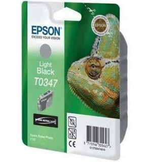 УЦЕНЕННЫЙ T034740 Картридж для Epson Stylus Photo 2100 Grey (Light Bk, серый)  (440стр.)