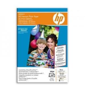Q1991HF = Q1991A HP Premium Photo Paper. Глянцевая фотобумага повыш. кач-ва, 10х15 с отрывным ярлычк