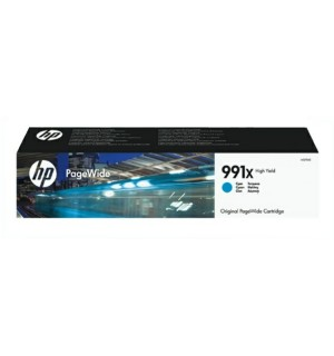 M0J90AE HP 991X Картридж Cyan для HP PageWide Pro 772dn/777z/750dw (16000 стр.)