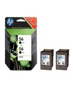 C6656A *2шт= C9502AE Двойная упаковка картриджей для HP PhotoSmart 7150/ 7345/ 7350/ 7450/ 7550/ 766