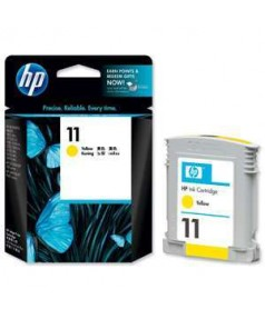 C4838A HP 11 Картридж (Yellow) для HP cp1700, busines inkjet серий 1000/ 1100/ 1200/ 2200/ 2230/ 2250/ 2280/ 2600/ 2800, designjet 10ps/ 20ps/ 50ps/ 70/ 100/ 100+/ 111/ 120ps/ psn; Officejet Pro K550/ 850