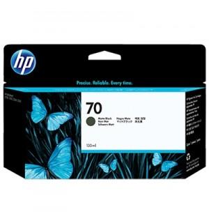 C9448A HP 70 Картридж Matte Black для Hewlett Packard DesignJet Z2100/ Z3100/ Z3200/ Z5200/ Z5400 (130 мл.)