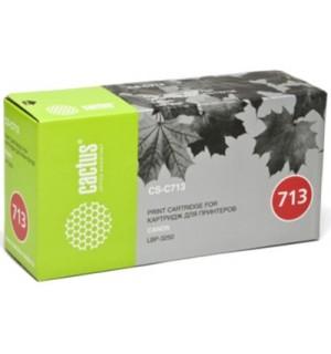Canon Cartridge 713 Совместимый Картридж Cactus CS-C713S для Canon i-SENSYS LBP3250 (2000 стр.)