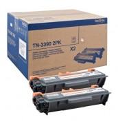 TN-3390TWIN Двойная упаковка картриджей Brother для HL-6180DW/ DCP-8250DN/ MFC-8950DW (12 000 стр.)