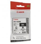 PFI-102BK (Black) [0895B001] Картридж с чернилами для плоттера Canon IPF-500/600/610/650/655/700/710 (картридж 130 мл)