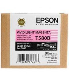 T580B / T580B00 Картридж для Epson Stylus Pro 3880 Vivid light magenta (80мл.)