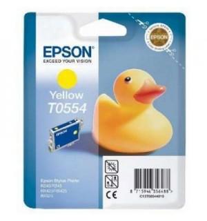 T0554 / T055440 Картридж для Epson Stylus Photo R240/245; RX400/420/425/520/540 Yellow (290 стр.)