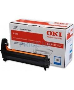 44315107 Фотобарабан голубой для принтеров ОКI С610 (20000 стр)