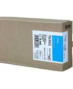 T6362 / T636200 Картридж для Epson Stylus Pro 7700/7890/7900/9700/9890/9900 Cyan ( 700 ml )