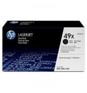 Q5949XD HP 49X Двойная упаковка картриджей для HP LJ 1320/ 3390/ 3392 Black (6000 стр.)