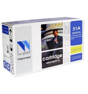 Q7551A Совместимый Картридж NV Print для HP mpf P3005/ M3027/ M3035 (6500 стр.)