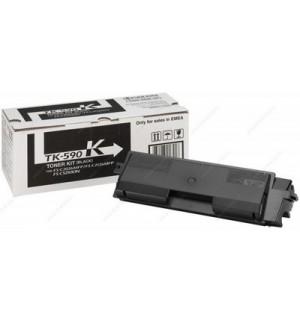 TK-590K [1T02KV0NL0] Тонер-картридж для Kyocera FS-C2026MFP/ C2126MFP/ C2526MFP/ C2626MFP/ C5250DN,