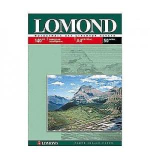140 Бумага LOMOND A4 GLOSSY 50 л. 140 г/ м2 глянцевая односторонняя [0102054]