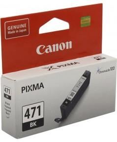 CLI-471BK [0400C001] Картридж Canon черный для PIXMA MG5740, 6840, 7740 (7мл., до 376 стр.)