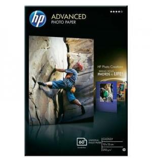 Q8008A HP Advanced Photo Paper. Улучшения Глянцевая фотобумага, 250 г/ м2, 10*15 для печати без поле