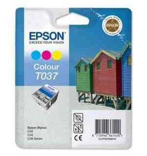 T037040 совместимый картридж TV для Epson Stylus Color C42, S42/ SX42 Color