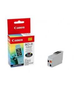 BCI-21С [0955A002] Чернильница к Canon BJC 2000/ 2100/ 4000/ 4100/ 4200/ 4300/ 4400/ 4550/ 4650/ 5100/ 5500, S100, FAX-B180C/ 210C/ 215C/ 230C, MultiPASS C20/ C30/ C50/ C70/ C75/ C80. Color (100стр.) ориг
