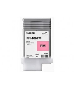 PFI-106PM (Photo Magenta) [6626B001] Картридж с чернилами для плоттера Canon iPF6400/6450 (130 мл)