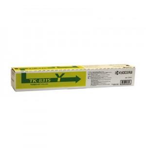 TK-8315Y [1T02MVANL0] Тонер-картридж для Kyocera TASKalfa 2550ci, Yellow (6 000 стр.)