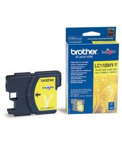 LC-1100 HYY Картридж для Brother DCP385C, DCP-6690CW (750 стр.) Yellow