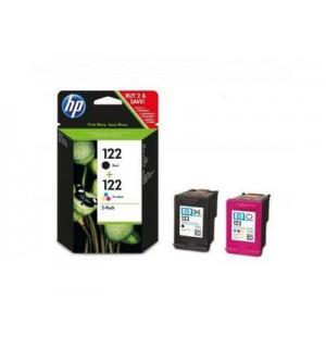 CR340HE HP 122 Сдвоенная упаковка картриджей CH561HE черный и CH562HE цветной