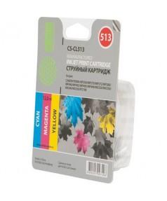 CL-513 Совместимый цветной картридж Cactus для Canon Pixma MP 230/ 240/ 250/ 260/ 270/ 480/ 490; MX