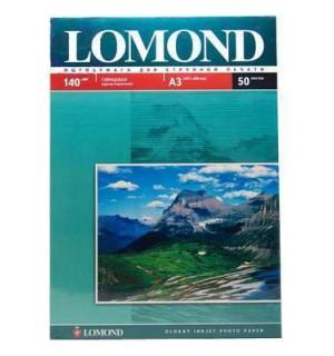 140 Бумага LOMOND A3 GLOSSY 140 г/ м2 50 л. глянцевая [0102066]