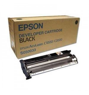 S050033 (C13S050033) Картридж для Epson  AcuLaser C2000/ C1000 Bk 6000 стр.