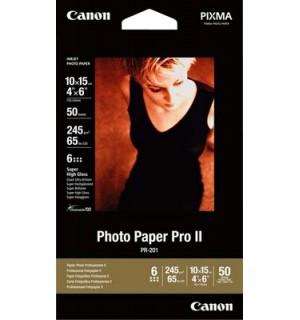 PR-201cards Бумага Canon Photo Paper Pro, на основе галогенида серебра, 28лет, 10x15 см, 245г/ м2 (5