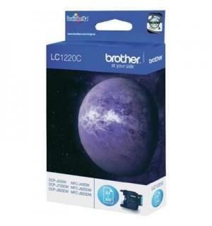 LC1220C  Картридж Brother LC1220C DCP-J525W/MFC-J430W/MFC-J825DW синий (Cyan), 300 стр. (5% заполнение)