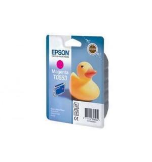 T0553 / T055340 Картридж для Epson Stylus Photo R240/245; RX400/420/425/520/540 Magenta (290 стр.)