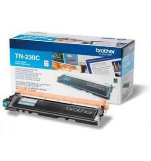 TN-230C Голубой картридж Brother для HL-3040/ 3070/ DCP-9010CN/ MFC-9120/ 9125/ 9130/ 9320 (1400 стр.)