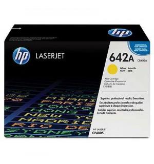 CB402A №642A Картридж для HP Color LaserJet 4005, Yellow 7500стр.