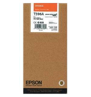T596A Картридж для Epson Stylus Pro  7900 / WT7900/ 9900 Vivid Orange 350 ml