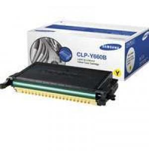CLP-Y660B Картриджи Samsung к цветным принтерам CLP610N/ CLP-610ND/ CLP-660N/ CLP-660ND/ CLX-6210FX