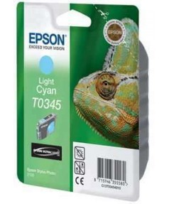УЦЕНЕННЫЙ T034540 Картридж для Epson Stylus Photo 2100 Cyan light (440стр.)